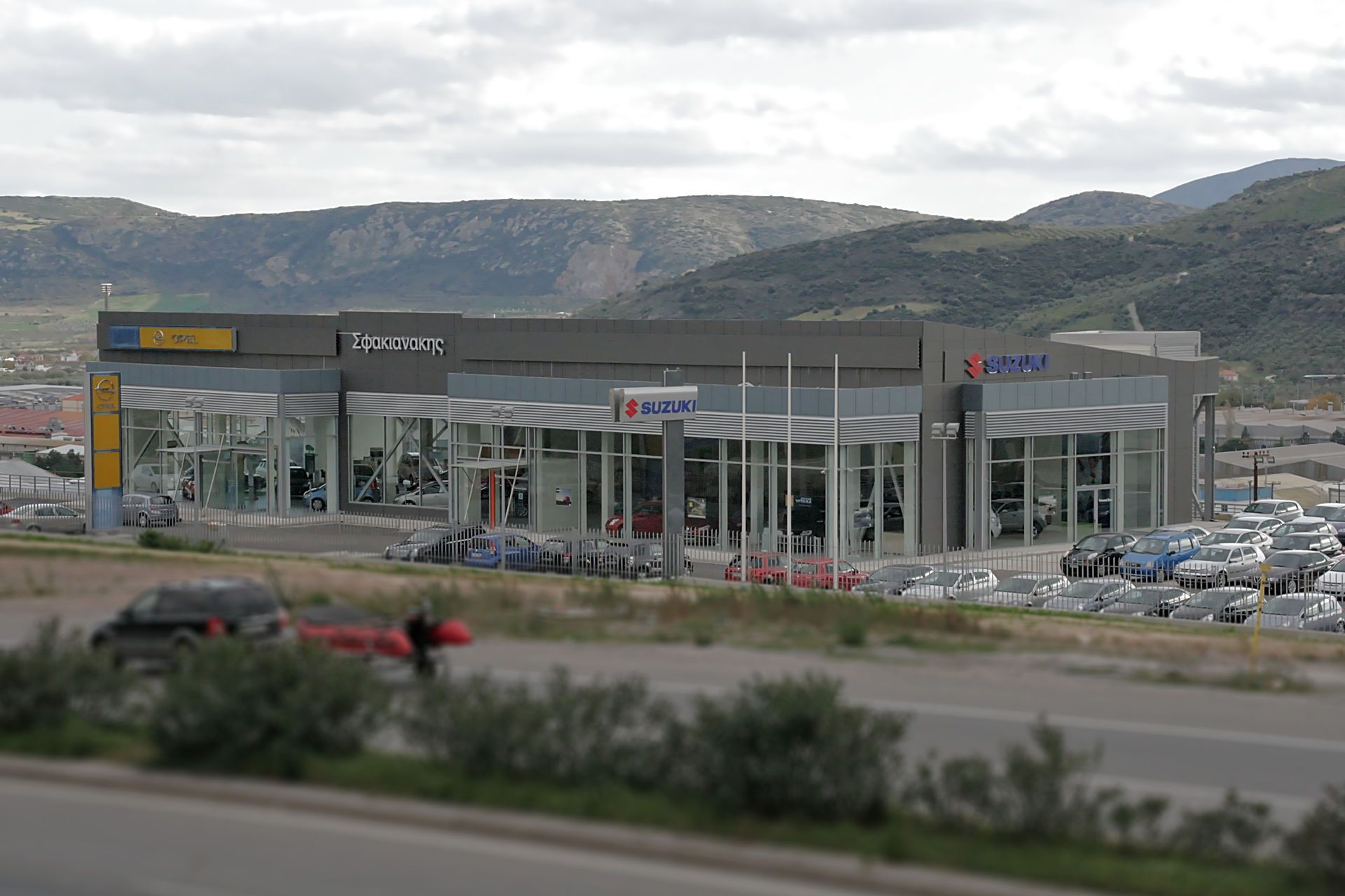 Sfakianiakis S.A. Volos auto show room and service station